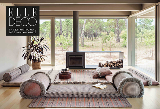 Elle Decor chooses Garden Layers as its candidate for the